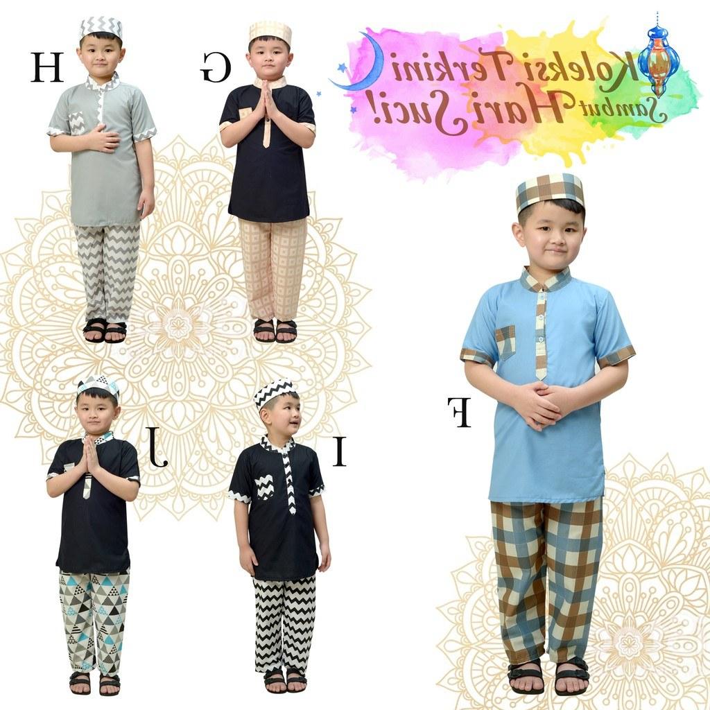 Model Baju Lebaran Anak Laki Laki E6d5 Eceran Set Koko Turki Baju Lebaran Anak Laki Laki Busana