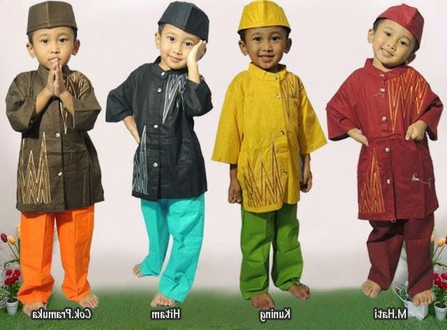 Model Baju Lebaran Anak Laki Laki E9dx Foto Busana Muslim Anak Laki Laki 2019 Foto Gambar Terbaru