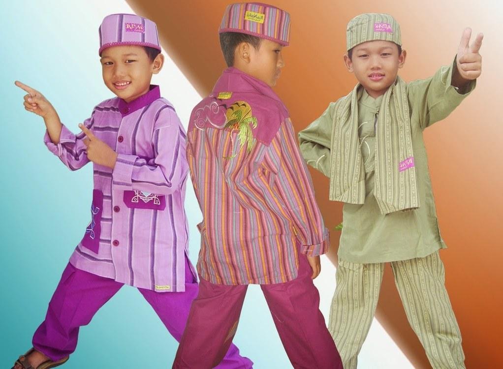 Model Baju Lebaran Anak Laki Thdr Model Busana Muslim Terbaru Untuk Anak Laki Laki