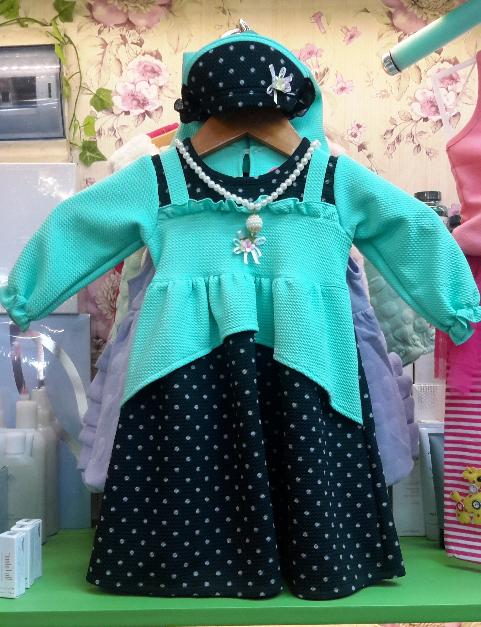 Model Baju Lebaran Bayi 87dx Jual Gamis Anak Perempuan Baju Muslim Bayi Baju Lebaran