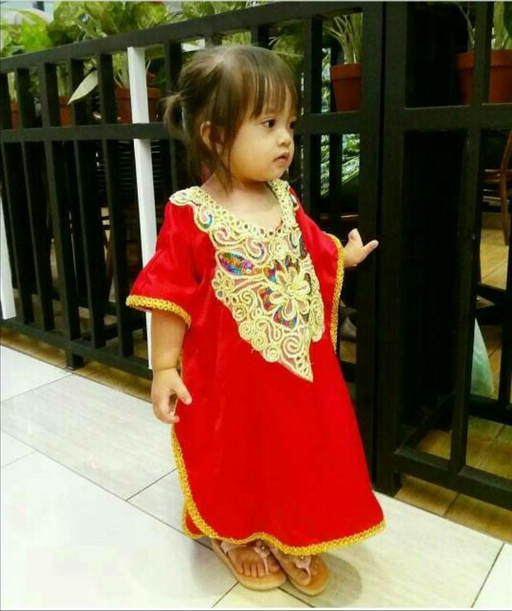 Model Baju Lebaran Bayi Zwd9 Baju Lebaran Untuk Bayi Perempuan Nusagates