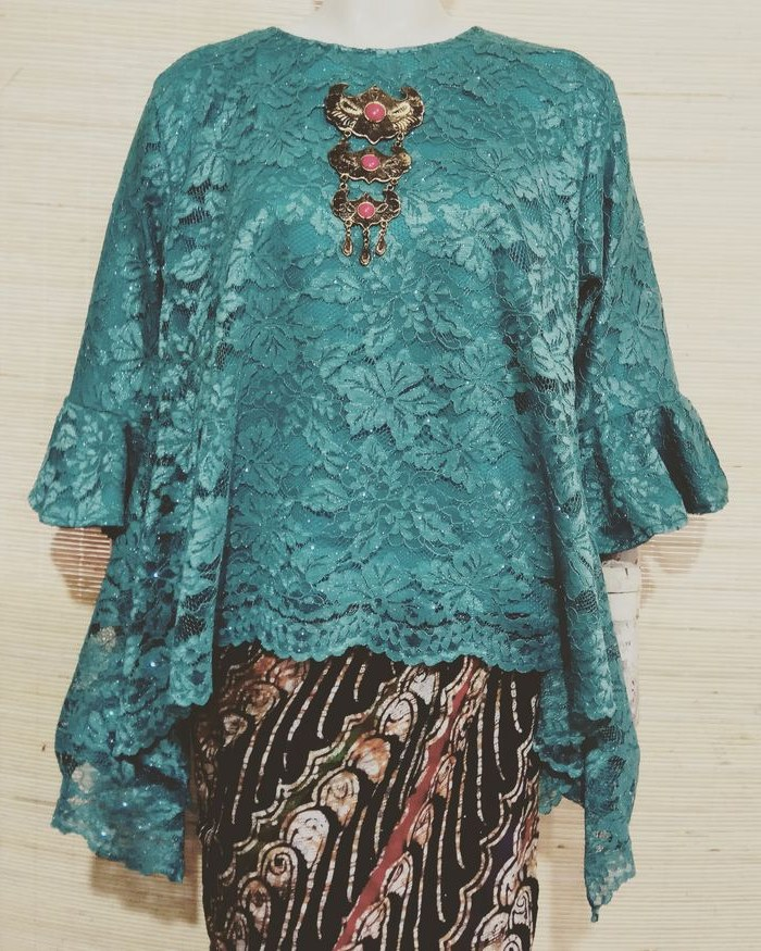 Model Baju Lebaran Big Size D0dg Jual Baju Kebaya Modern Brokat Tunik Brukat Jumbo atasan