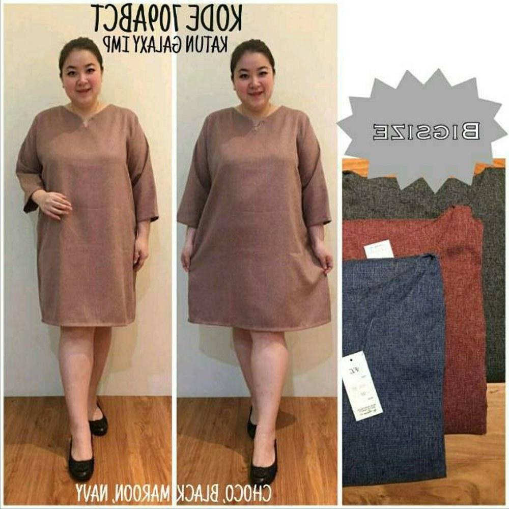 Model Baju Lebaran Big Size Tqd3 Jual Promo Baju Big Size Baju atasan Tunik Dress Lengan