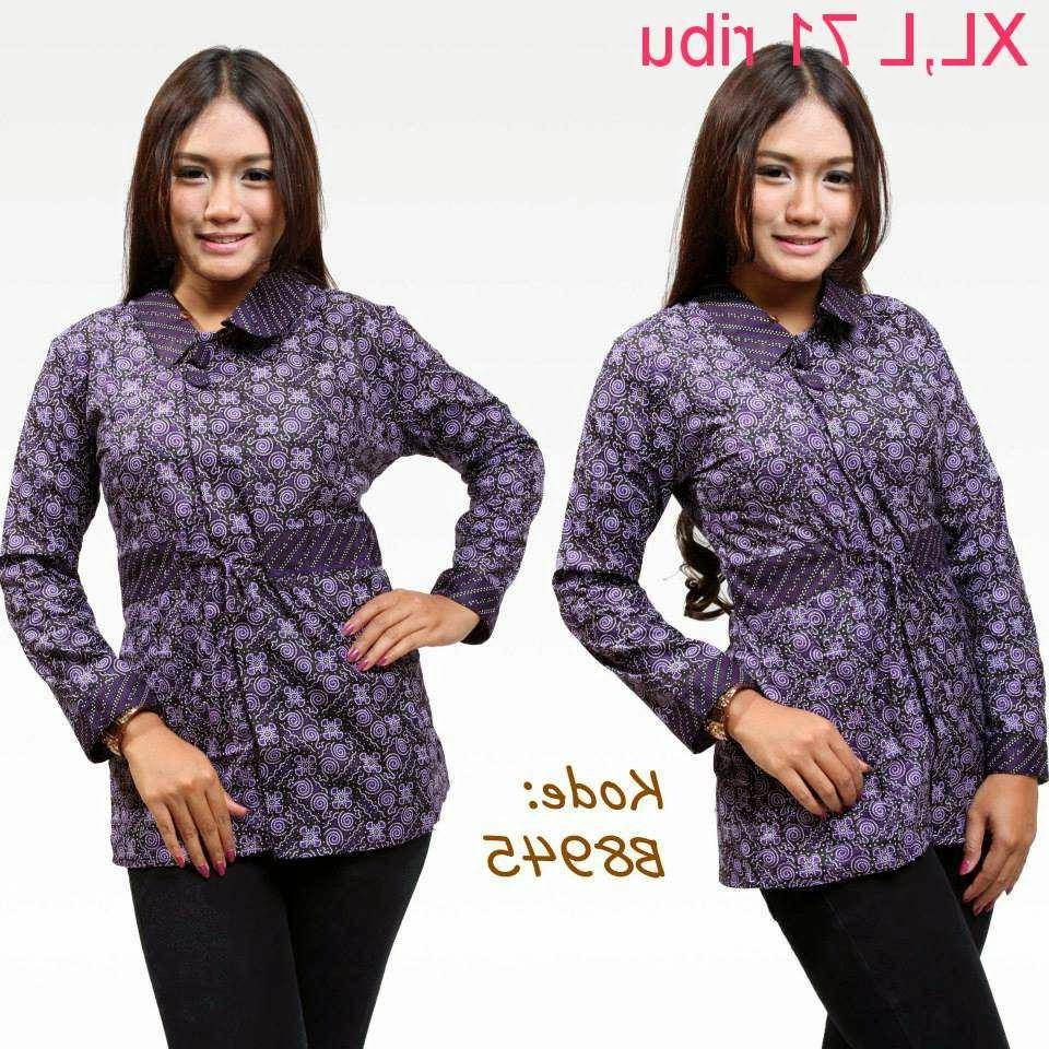 Model Baju Lebaran Cewe Zwd9 Model Baju Batik Lebaran Terbaru Hot Trend Beauty Id