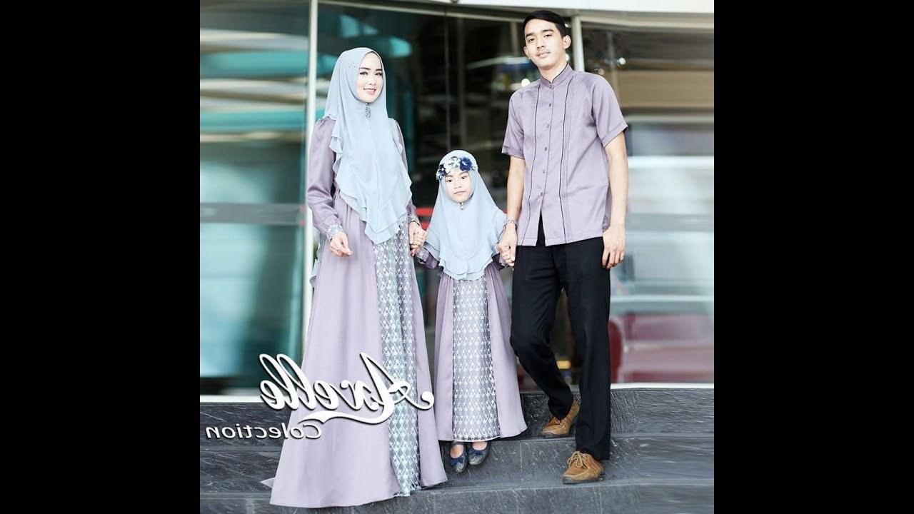 Model Baju Lebaran Ibu Dan Anak Perempuan 8ydm Inspirasi Baju Muslim Lebaran 2019