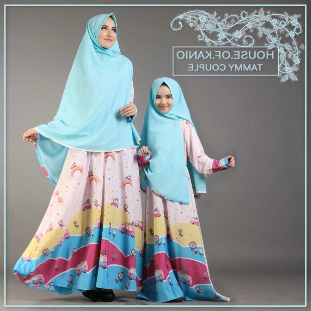 Model Baju Lebaran Ibu Dan Anak Perempuan 9ddf 9 Contoh Baju Muslim Ibu Dan Anak Terbaru Serasi Modis