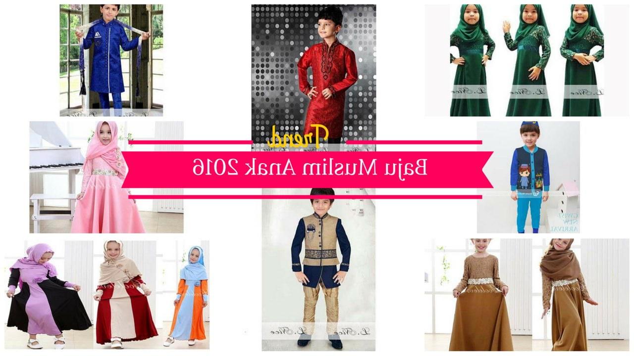 Model Baju Lebaran Laki S5d8 Tren Baju Muslim Anak Untuk Bulan Ramadhan Dan Lebaran