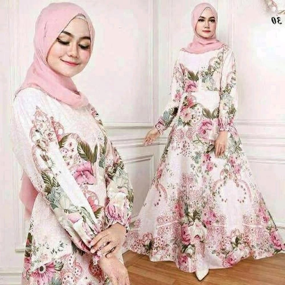 Model Baju Lebaran Lazada Mndw Gamis Brokat Terbaru 2019 Lazada Gambar islami