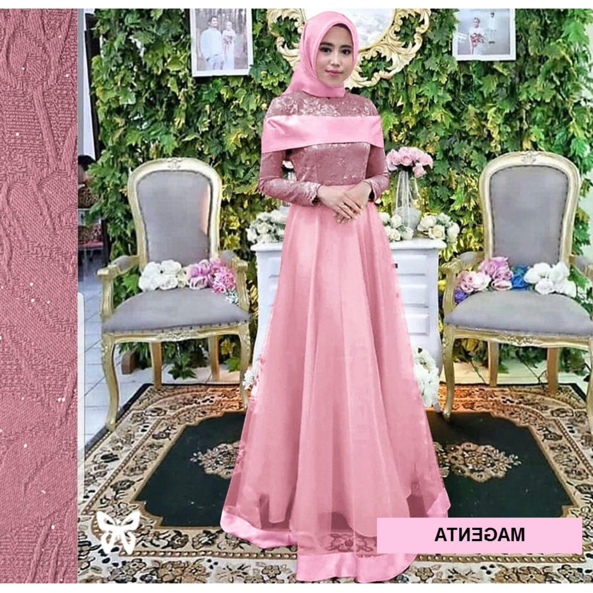 Model Baju Lebaran Lazada Txdf Gamis Brokat Terbaru 2019 Lazada Gambar islami