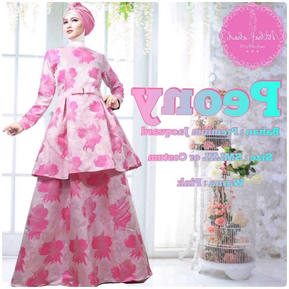 Model Baju Lebaran Mewah 3ldq Outlet Nurhasanah Outlet Baju Pesta Keluarga Muslim