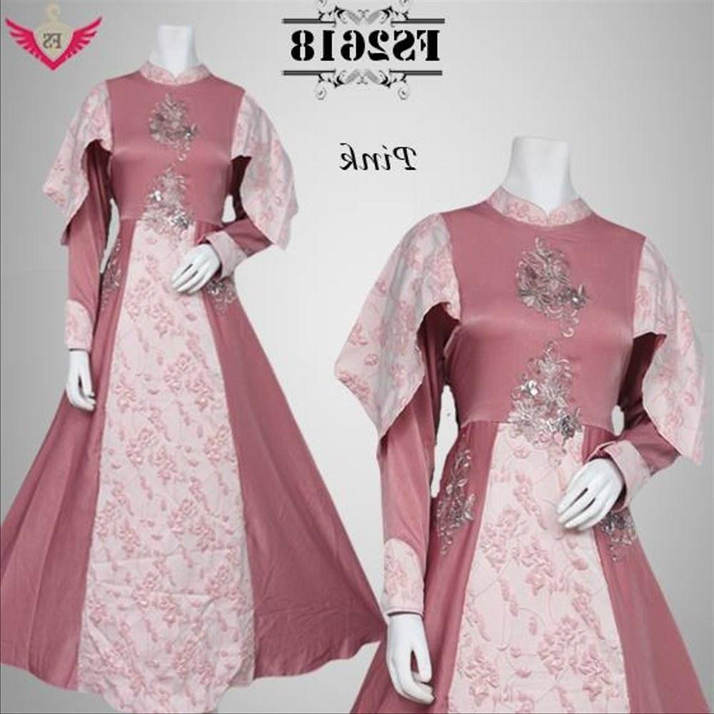 Model Baju Lebaran Mewah Whdr Jual Baju Lebaran Pink Mewah Gamis Pesta Terbarulongdress