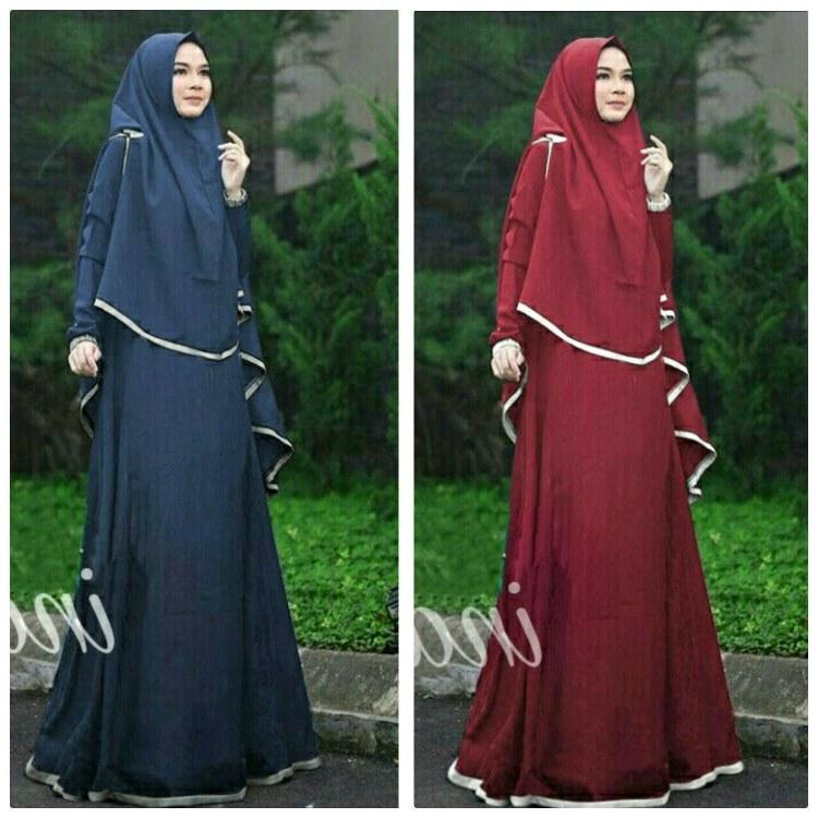 Model Baju Lebaran Modis Whdr Jual Beli Baju Muslim Ina Syari Pakaian Hijab Stelan Gamis