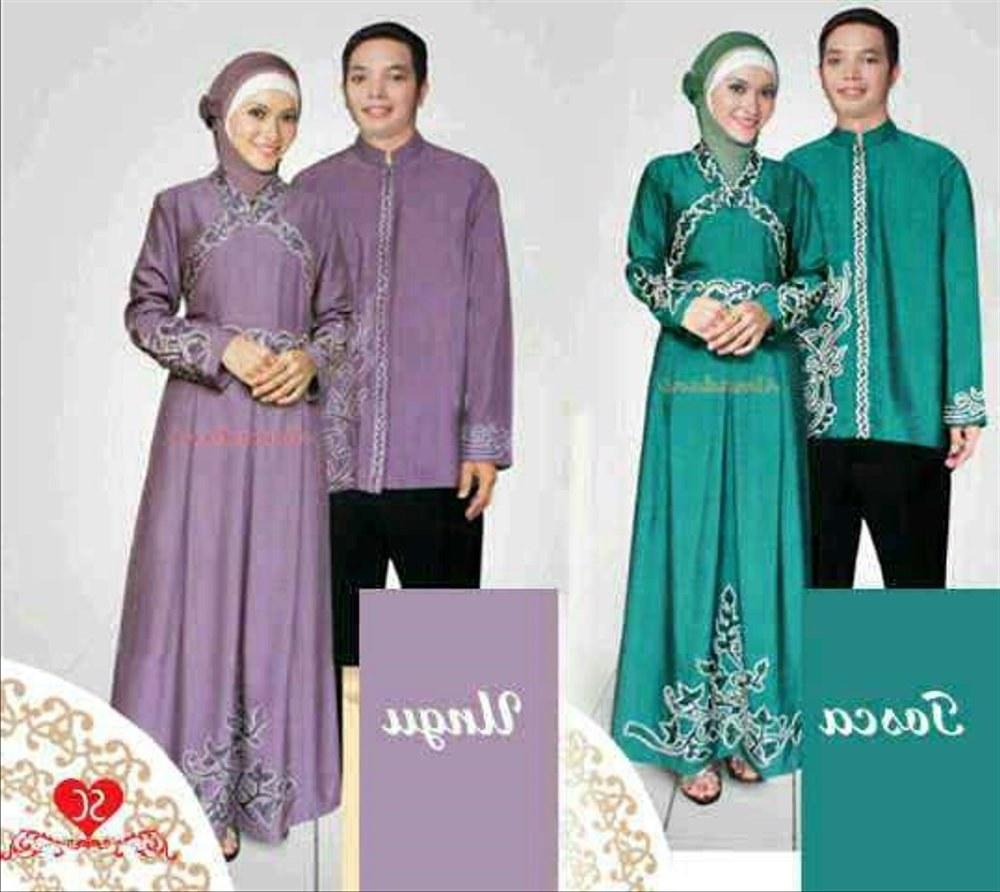 Model Baju Lebaran Pasangan Ipdd Jual Busana Muslim Pasangan Terbaru Gamis Couple Baju