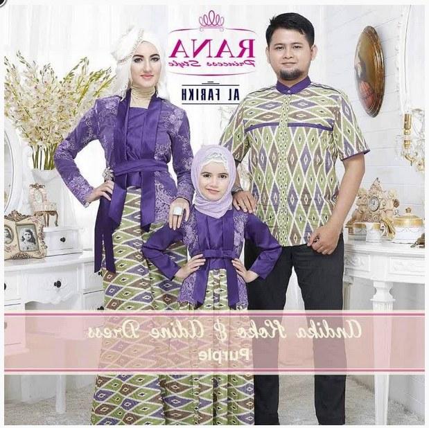 Model Baju Lebaran Pasangan U3dh 50 Model Baju Muslim Pasangan Keluarga Modern Terbaru