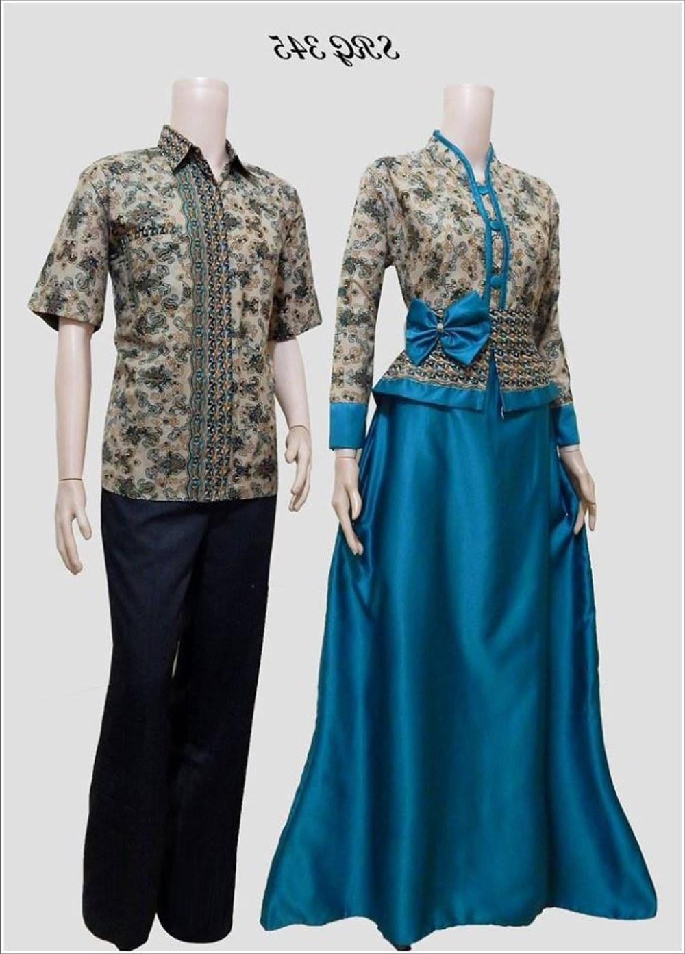 Model Baju Lebaran Pasangan X8d1 Jual Couple Batik Sarimbit Gamis Pesta Baju Pasangan