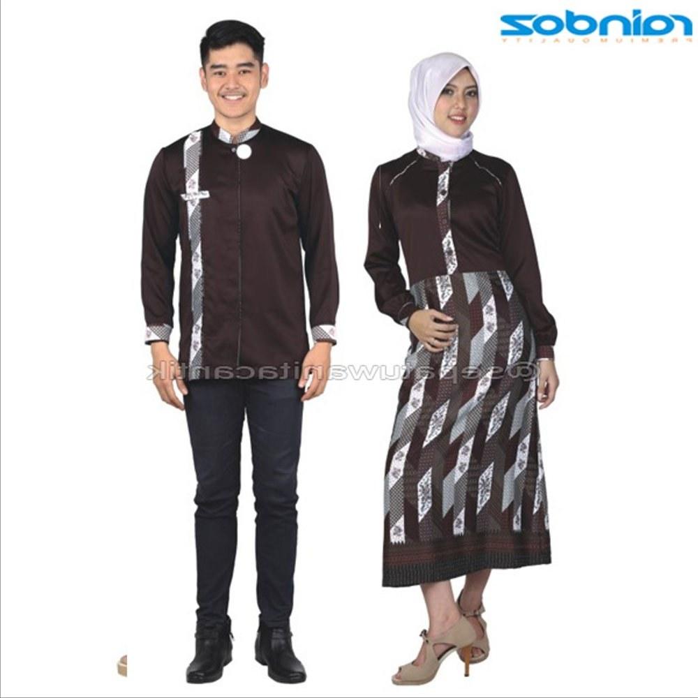 Model Baju Lebaran Pasangan Zwdg Jual New Model Baju Muslim Pasangan Batik Baju Muslim