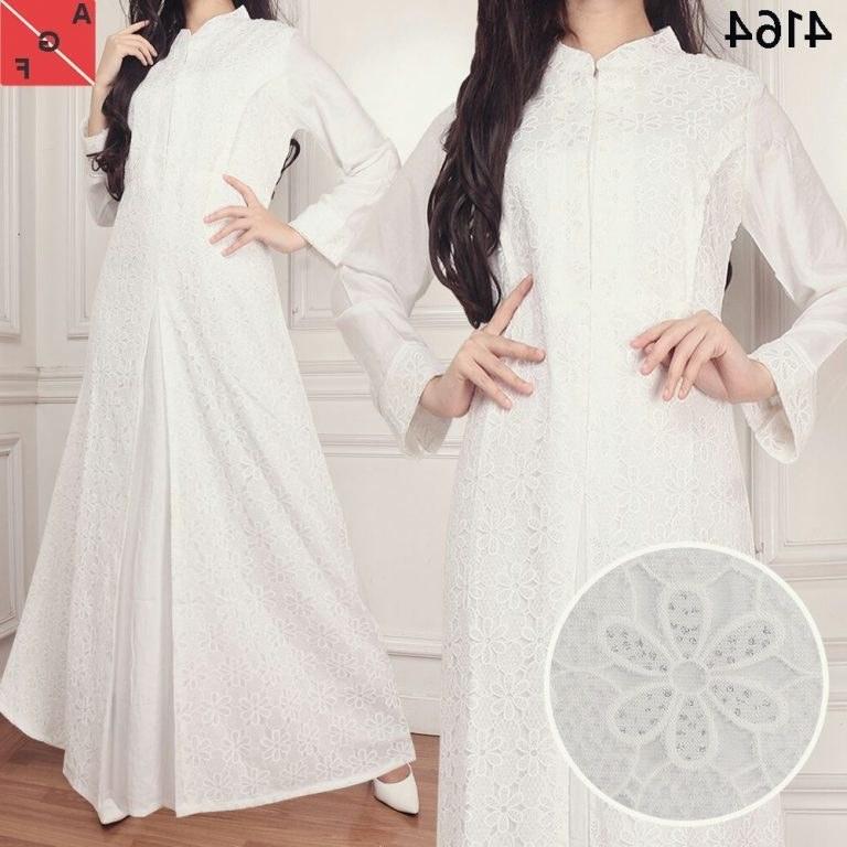 Model Baju Lebaran Putih Dwdk 30 Model Baju Gamis Putih Untuk Lebaran Fashion Modern
