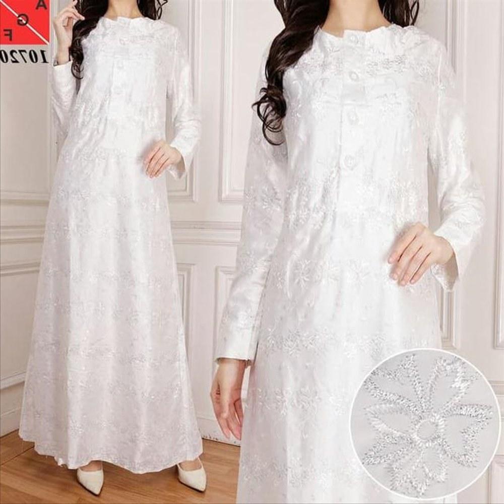 Model Baju Lebaran Putih Q0d4 Jual Good Baju Gamis Putih U002f Muslim Wanita Lebaran