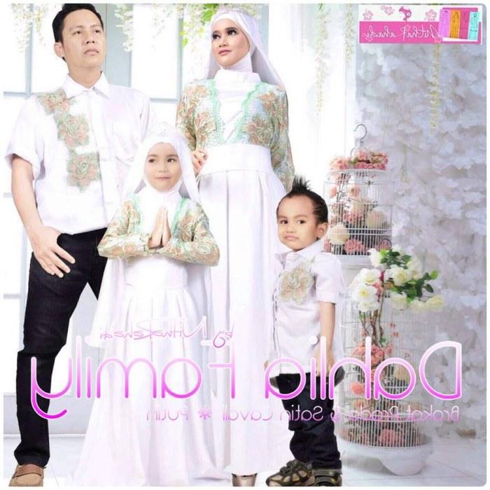 Model Baju Lebaran Putih U3dh 22 Baju Lebaran Keluarga Warna Putih Modern