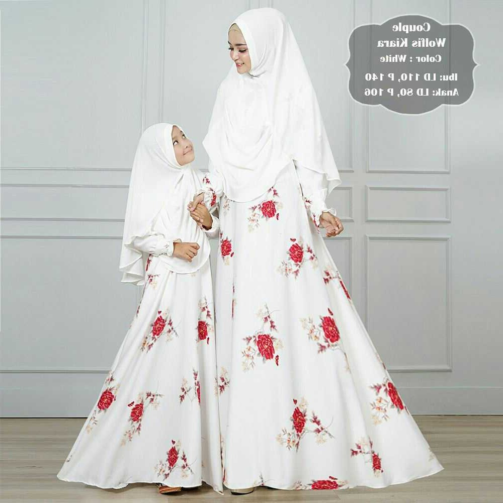 Model Baju Lebaran Putih U3dh Koleksi Model Baju Gamis Terbaru