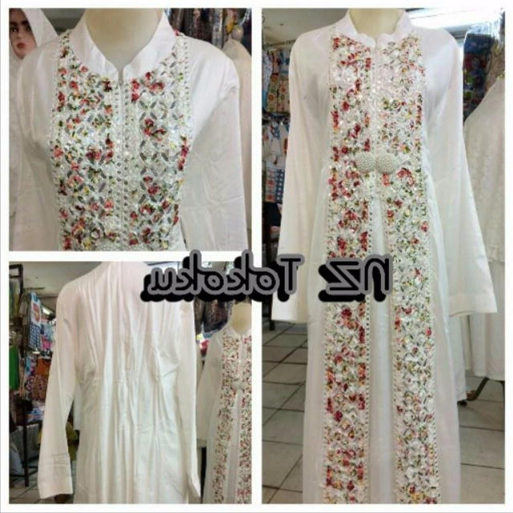 Model Baju Lebaran Putih Zwdg Jual Baju Gamis Putih Muslim Murah Untuk Lebaran Umroh