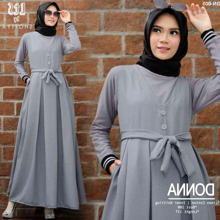 Model Baju Lebaran Remaja Terbaru 2020 Drdp 43 Baju Gamis Buat Remaja 2020 Inspirasi Untuk anda