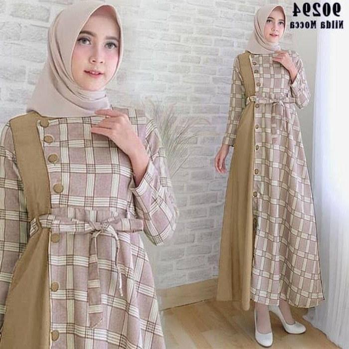 Model Baju Lebaran Remaja Terbaru 2020 Y7du 25 Model Gamis 2020 Model Baju Gamis Celana