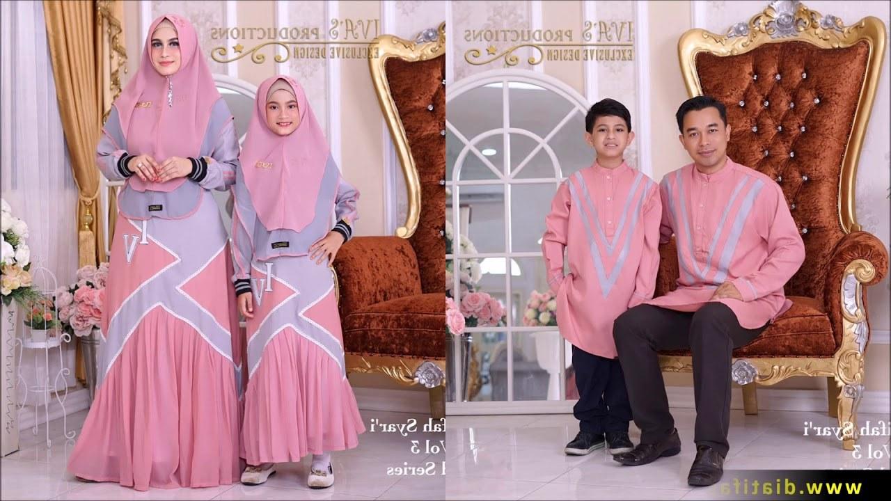 Model Baju Lebaran Syari 2019 Ftd8 Trend Gamis Lebaran Idul Adha 2019 2020 Syari