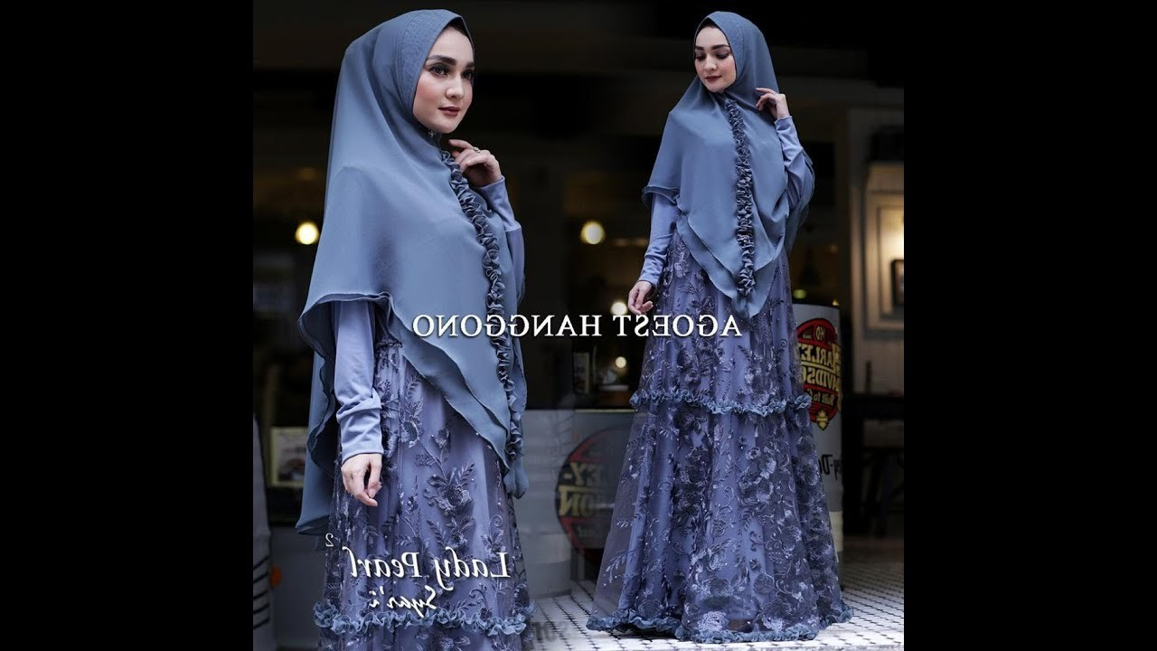 Model Baju Lebaran Syari 2019 Thdr Inspirasi Baju Gamis Syari Dan Mukena Untuk Lebaran Idul