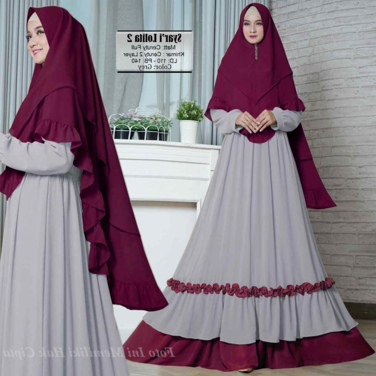 Model Baju Lebaran Tahun 2019 Q0d4 Model Baju Muslim Terkini 2019