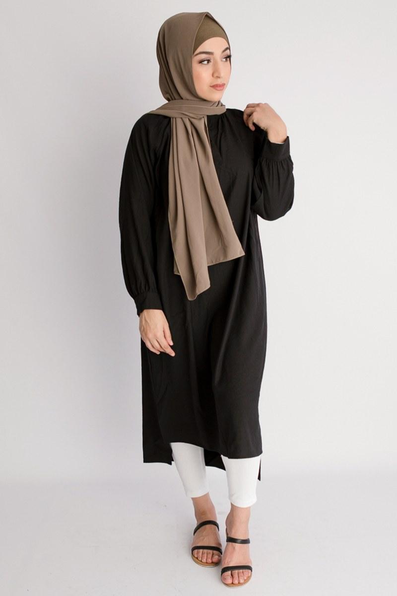 Model Baju Lebaran Tahun 2019 Q5df Padupadan Hijab Dan Dress Trend Model Baju Lebaran Tahun