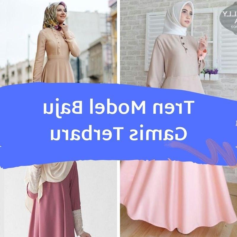 Model Baju Lebaran Tahun 2020 Bqdd Trend Model Baju Gamis Paling Diminati Di Tahun 2020