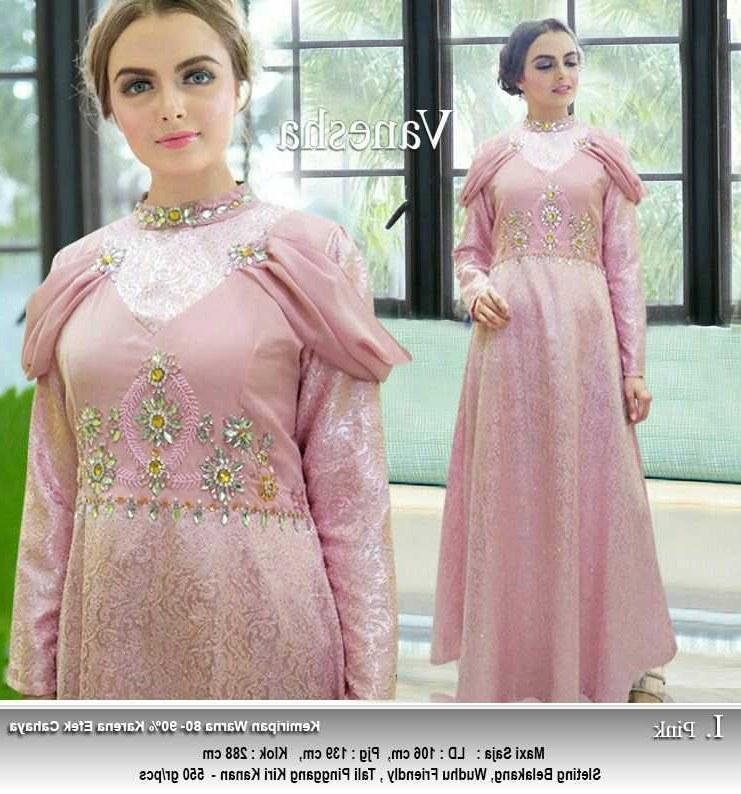 Model Baju Lebaran Tahun Ini 87dx Gamis Lebaran Tahun Ini Vanesha Gamisalya