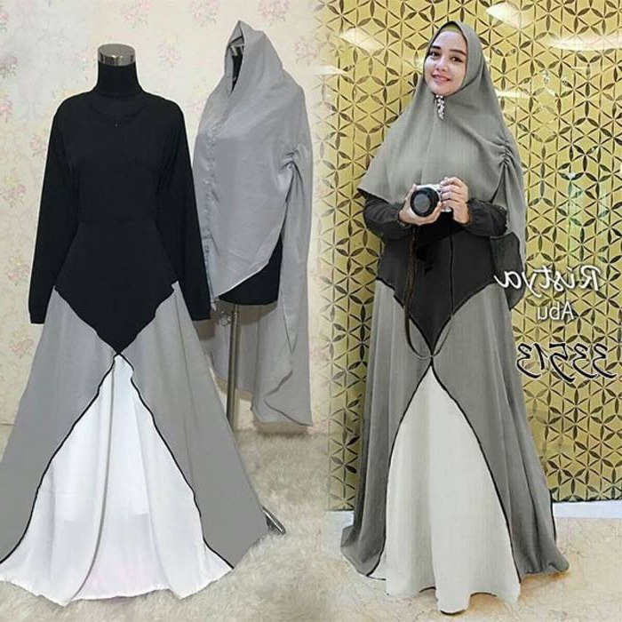 Model Baju Lebaran Tahun Ini Budm Baju Gamis Lebaran Tahun Ini Ristya Gamisalya
