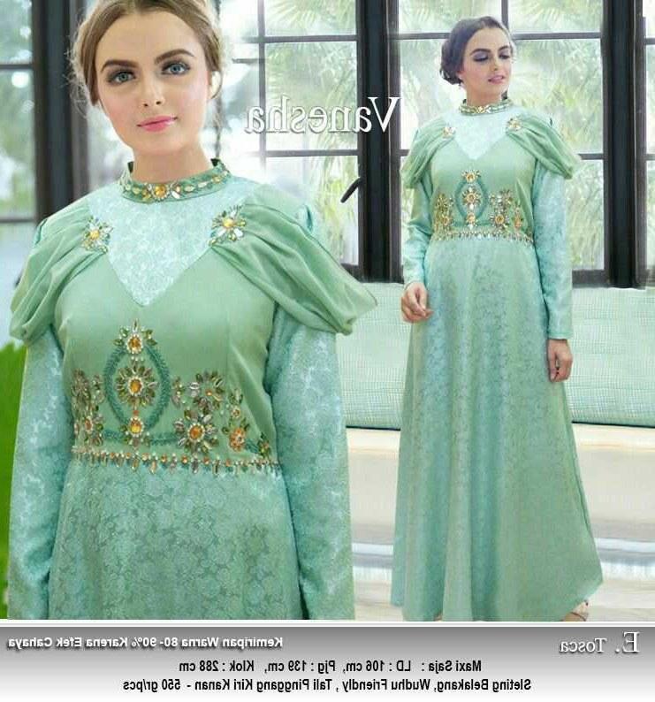 Model Baju Lebaran Tahun Ini Mndw Gamis Lebaran Tahun Ini Vanesha Gamisalya