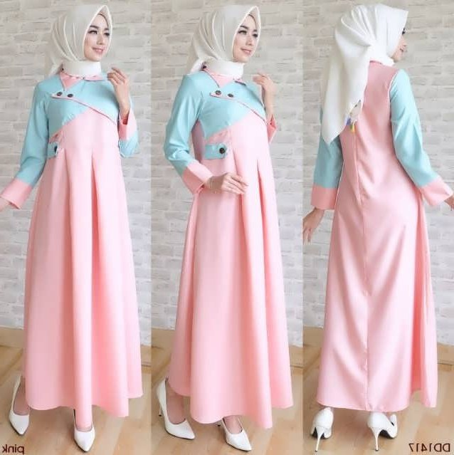 Model Baju Lebaran Terbaru 2019 Wanita H9d9 35 Model Baju Gamis Terbaru Lebaran Hamil Gemuk Kurus