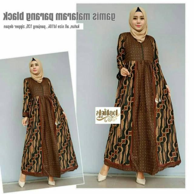 Model Baju Lebaran Terbaru 2019 Wanita S5d8 Trend Model Baju Muslim Wanita 2019 • Info Tren Baju