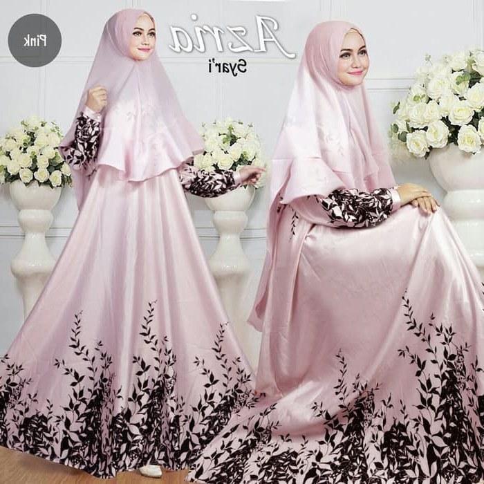 Model Baju Lebaran Trend 2019 Ipdd Baju Gamis Lebaran Syar'i 2019 Azria Gamiscantik