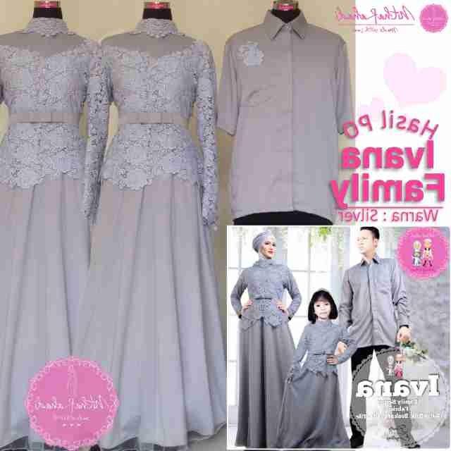 Model Baju Lebaran Untuk Keluarga Dddy Sa Ma Ra Boutique butik Baju Pesta Keluarga Muslim Baju