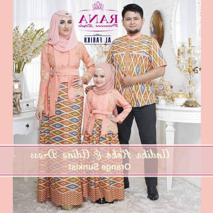 Model Baju Lebaran Untuk Keluarga Thdr 18 Model Baju Couple Muslim Keluarga Untuk Lebaran