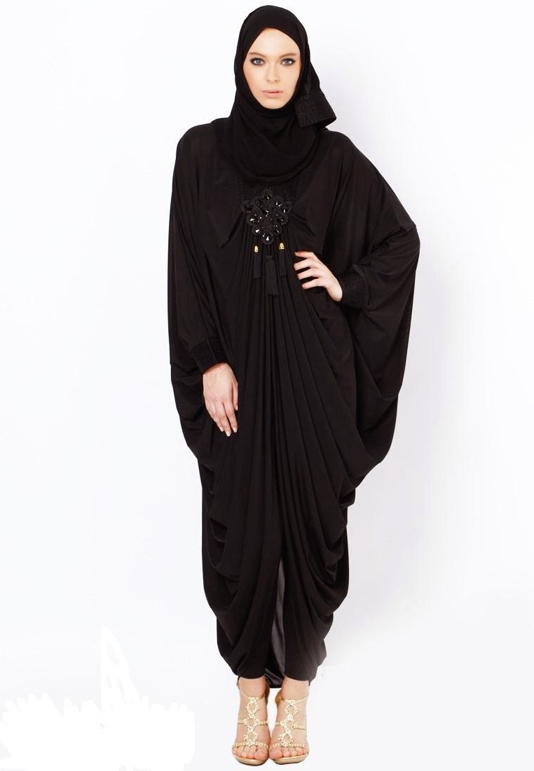 Model Baju Lebaran Untuk orang Gemuk D0dg Koleksi Busana Muslim Kaftan Abaya Untuk Wanita Gemuk