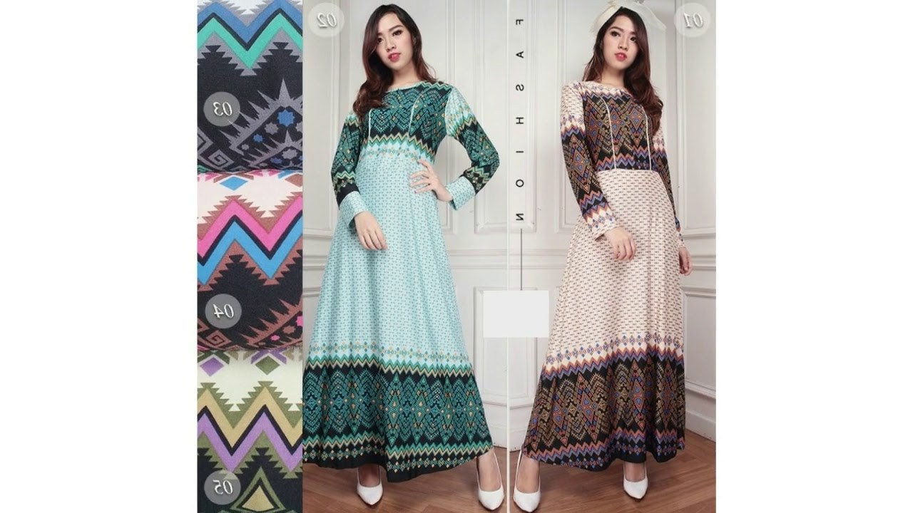 Model Baju Lebaran Untuk orang Gemuk Etdg Baju Lebaran Gamis Untuk orang Gemuk