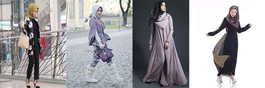 Model Baju Lebaran Wanita 2018 S1du Trend Busana Wanita Muslim Motif Casual Lebaran 2018 My Blog