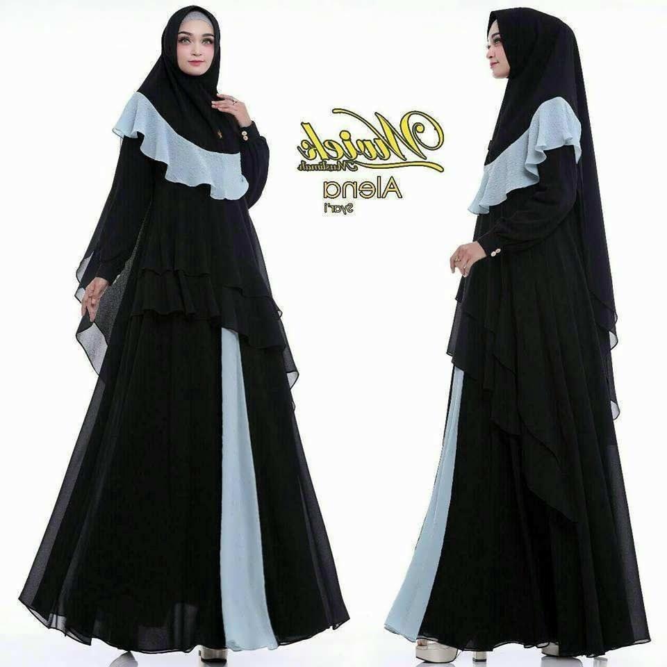 Model Baju Lebaran Wanita Tahun 2019 Fmdf Baju Lebaran Model Baju Gamis Terbaru 2019 Wanita