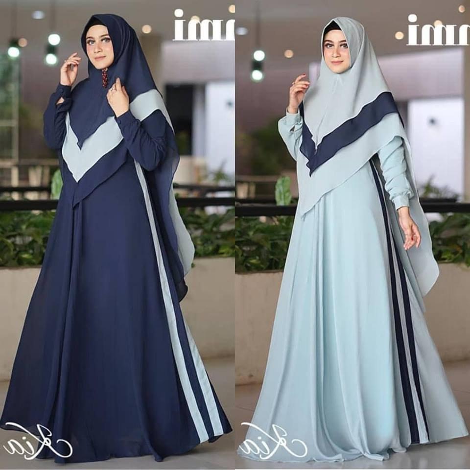 Model Desain Baju Lebaran 2019 Mndw Baju Gamis Lebaran Terbaru 2019 Nusagates