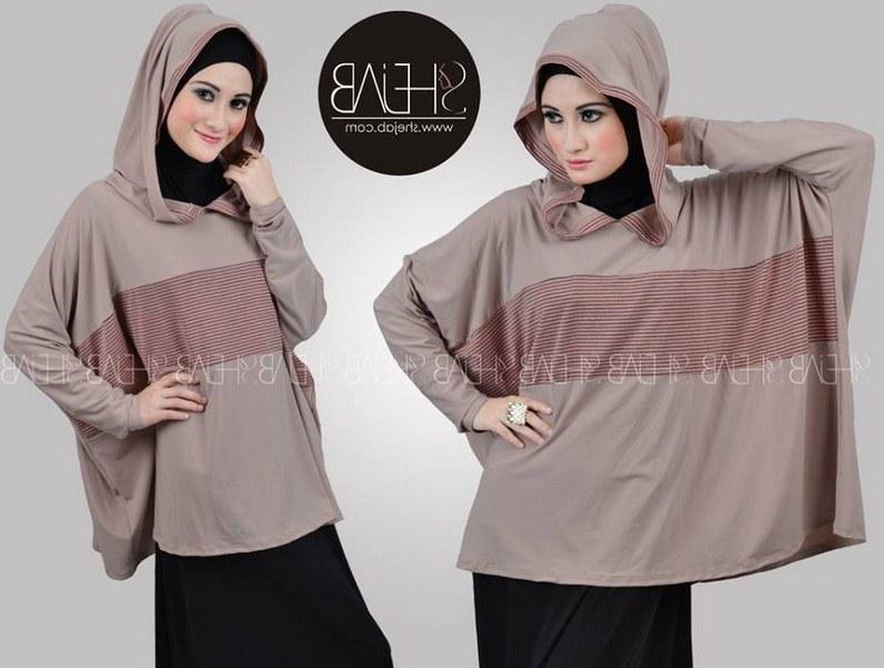 Model Desain Baju Lebaran Dwdk Contoh Desain Baju Hijab Untuk Lebaran Terbaru
