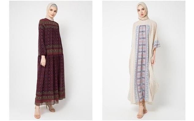 Model Desain Baju Lebaran Thdr Trend Model Baju Lebaran Wanita Muslimah Terbaru 2019