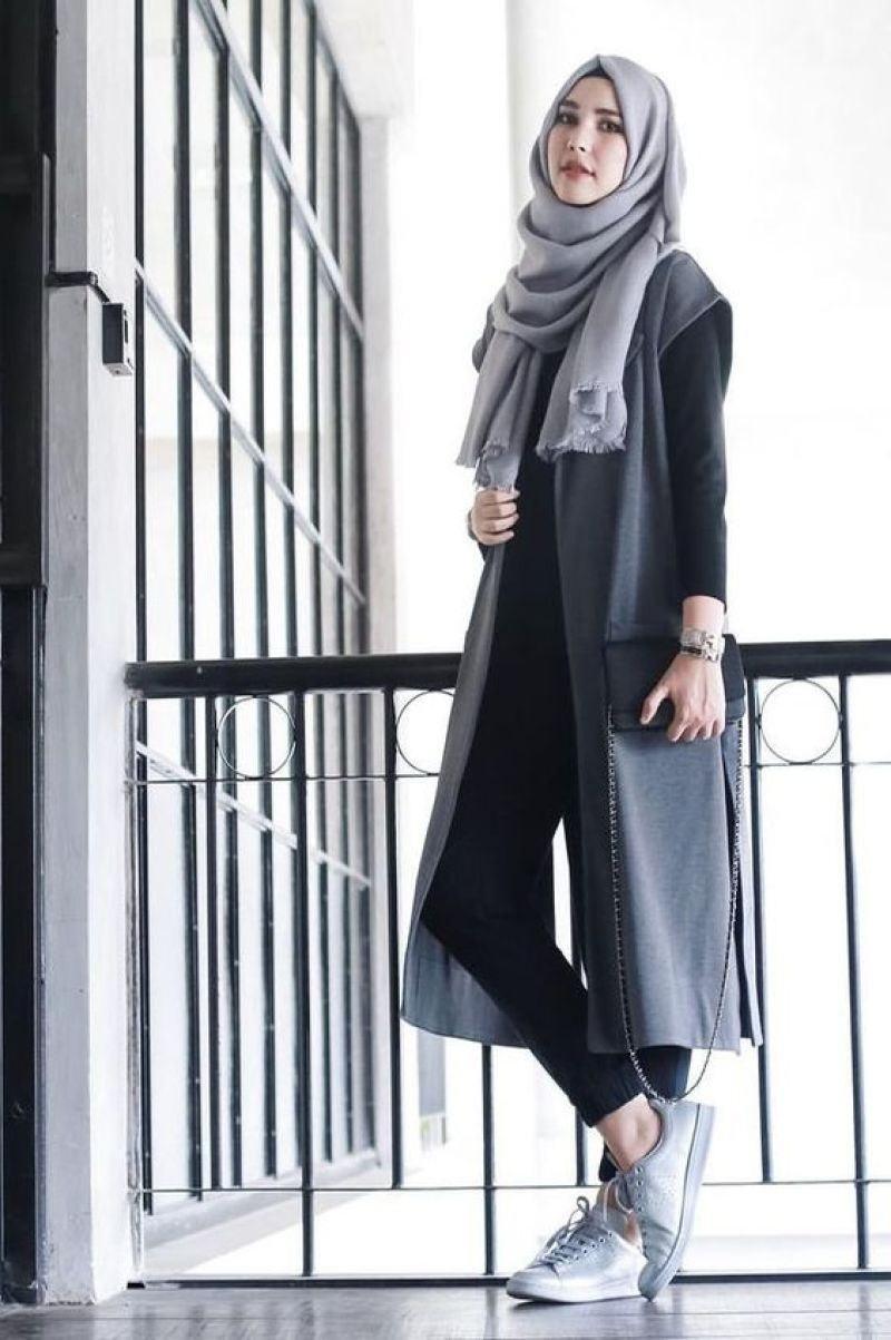 Model Fashion Muslim 2020 Fmdf Professional Working Women Hijab Fashion Trends 2019