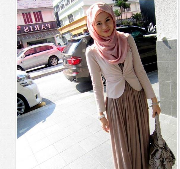 Model Fashion Muslimah Casual Budm Stylish Winter Hijab Outfits 2013