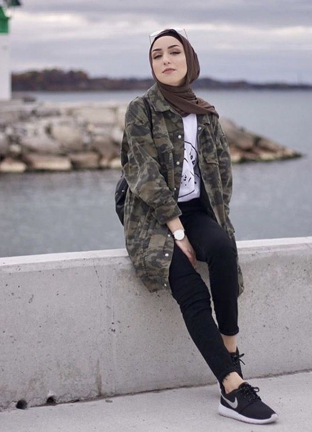 Model Fashion Muslimah Casual Ftd8 2091 Best Images About Fashion Hijab Styles On Pinterest